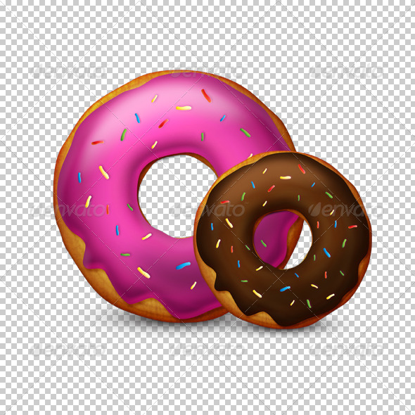 Sweet Donuts - PSD - 1