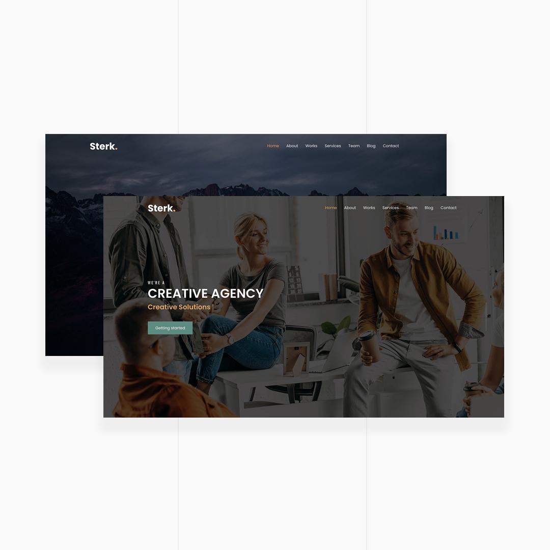 Sterk - Creative Agency & Personal Template