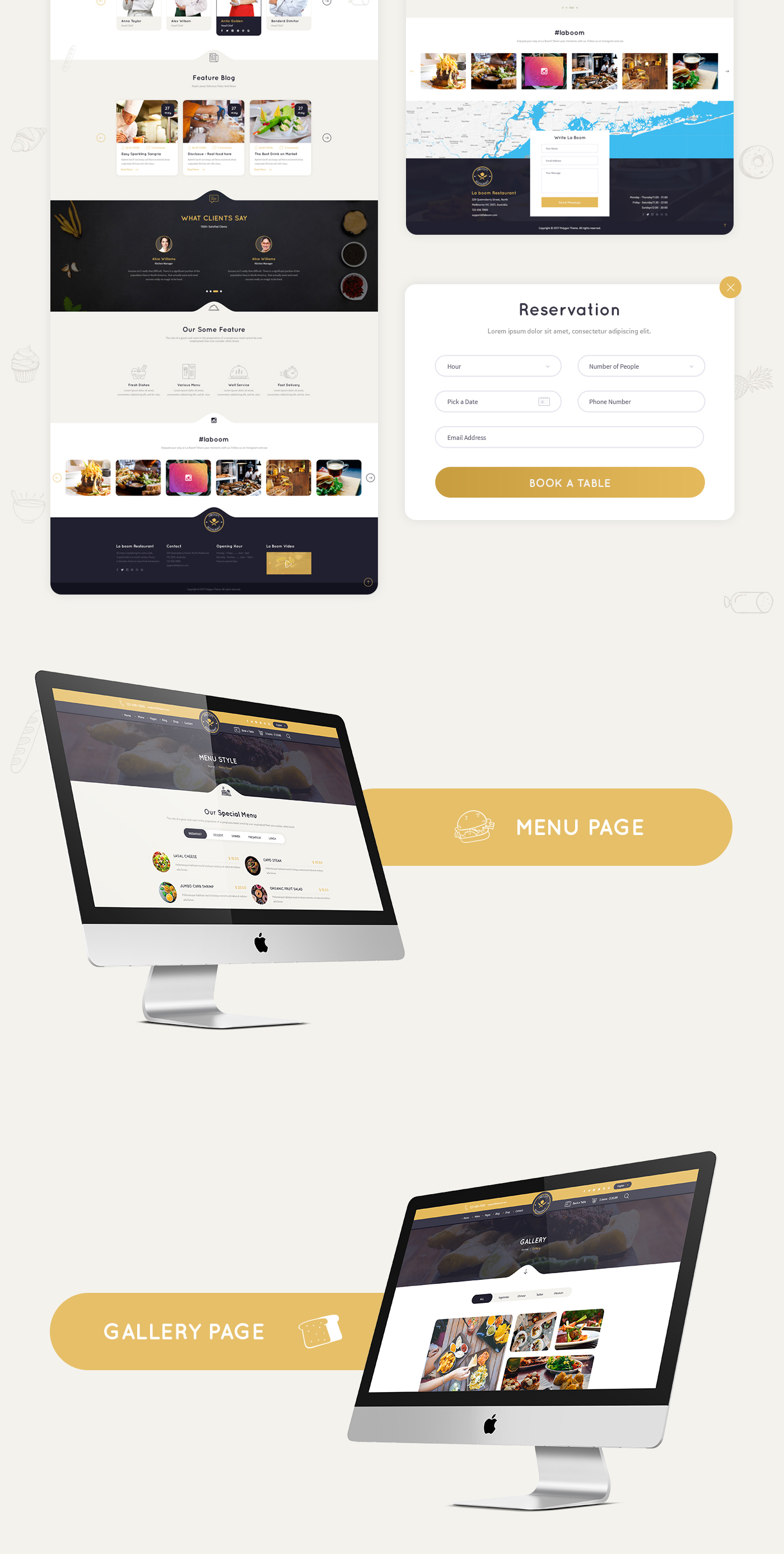 La Boom - Food & Restaurant Bistro WordPress Theme - 12