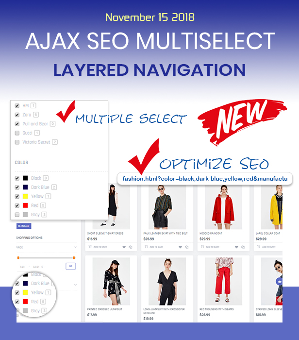 Ajax SEO Multiple Layered Navigation