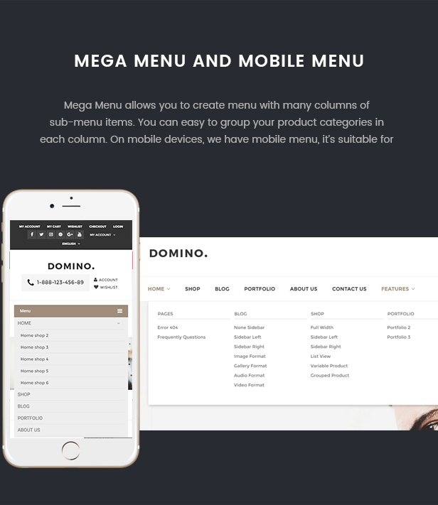 Domino - Fashion Responsive WordPress Theme 42