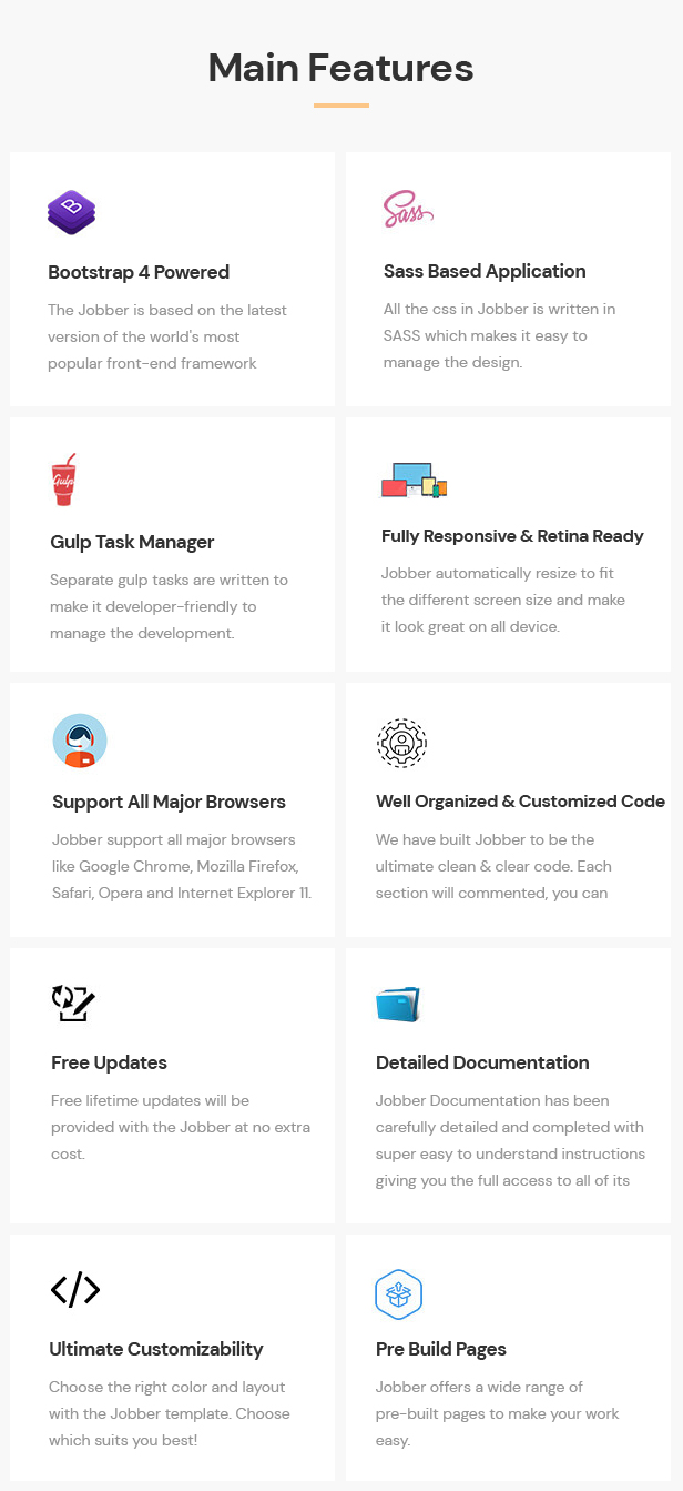Jobber - Job Board HTML5 Template - 4