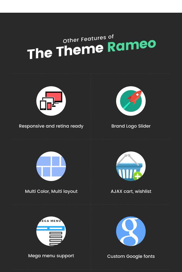 Rameo - Multipurpose Theme for WooCommerce WordPress 7
