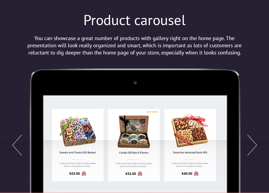 Sweets Store - Responsive OpenCart Theme - 6