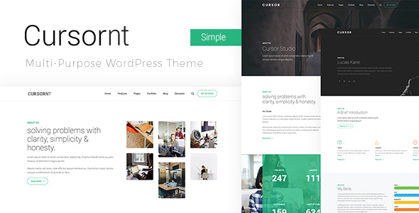 Cursornt - Multi Purpose WordPress Theme - Business Corporate