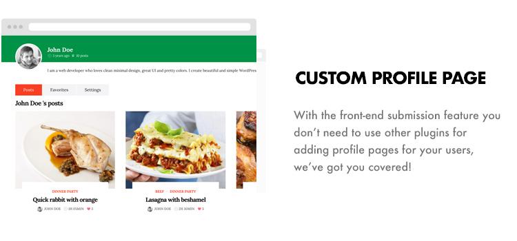 Foodbook - Receita da Comunidade, Blog, Food & Restaurant Theme - 14