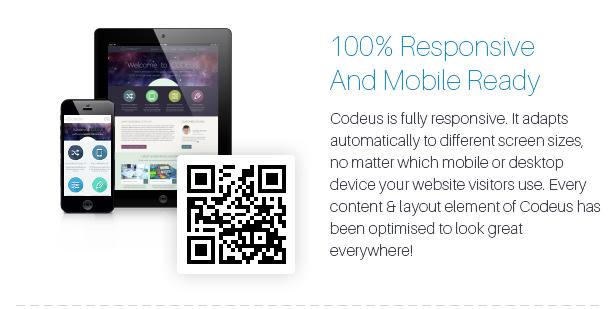 Codeus — Multi-Purpose Responsive WordPress Theme - 16