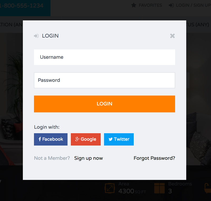 User Login and Registration