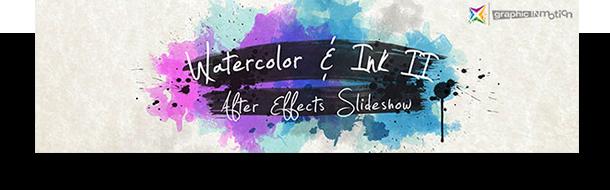 Watercolor, Paint Splatters & Brush Stroke PACK - 2