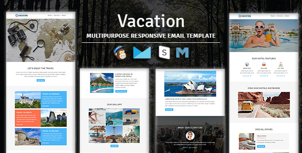 Digit - Multipurpose Responsive Email Template With Stampready Builder & Mailchimp Access - 4