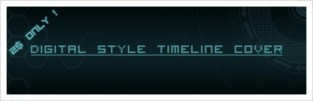 Digital Style Timeline Cover