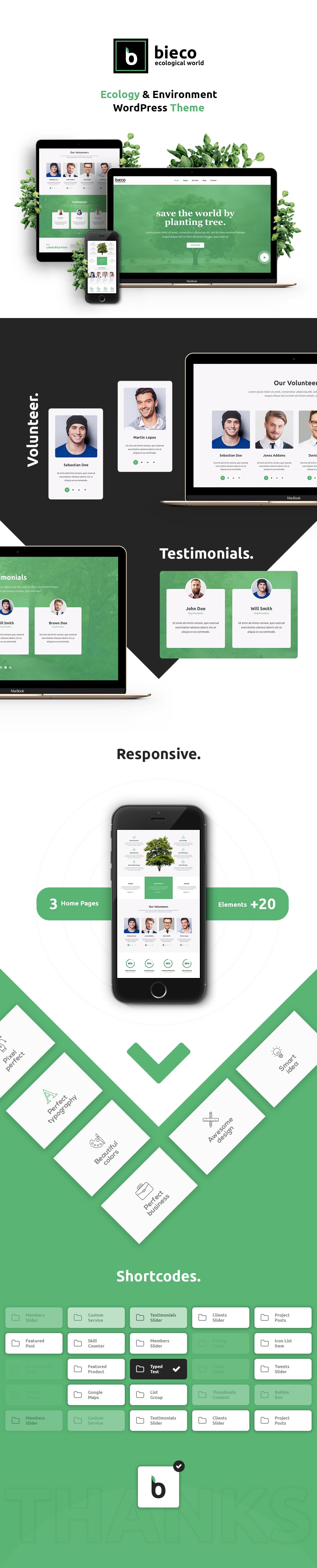 Bieco - Environment & Ecology WordPress Theme - 2