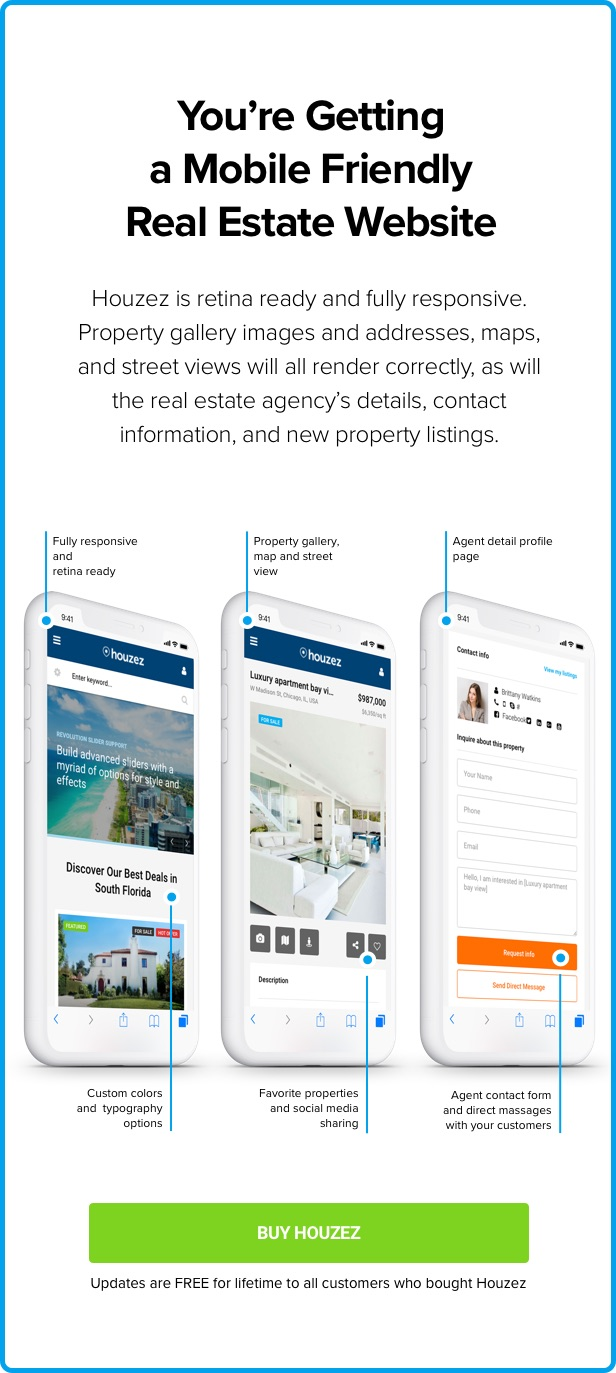 Houzez - Real Estate WordPress Theme - 18
