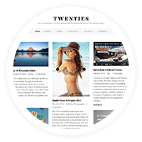 Twenties - Clean, Responsive Blog WordPress Theme - 1