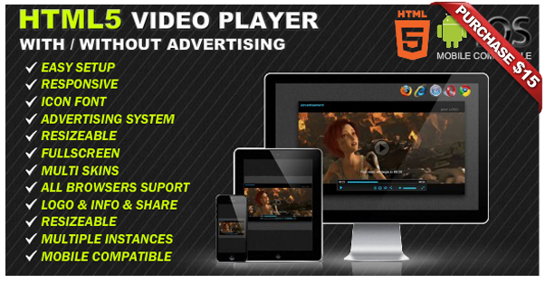 Ultimate Video Player with YouTube, Vimeo, HTML5, Ads - 12