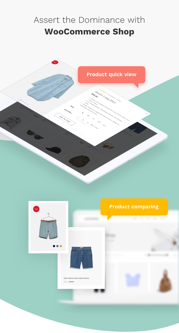 Fashion WooCommerce WordPress Theme - WooCommerce Shopping Features