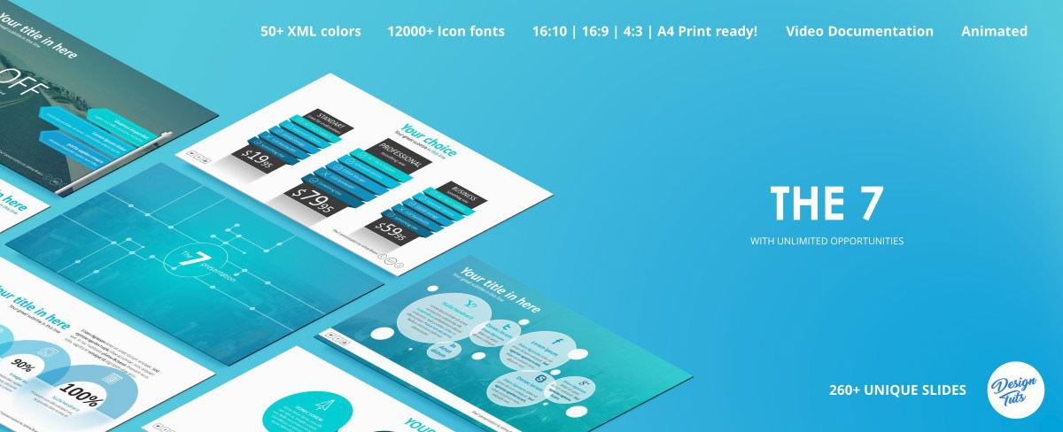 Massive X Presentation Template v.5.5 Fully Animated - 27