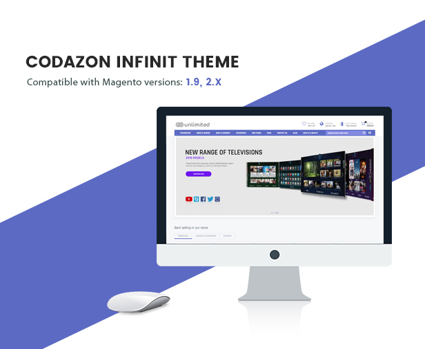 Infinit - Magento 2 & 1.9 with 15  Unique Homepages - Welcome