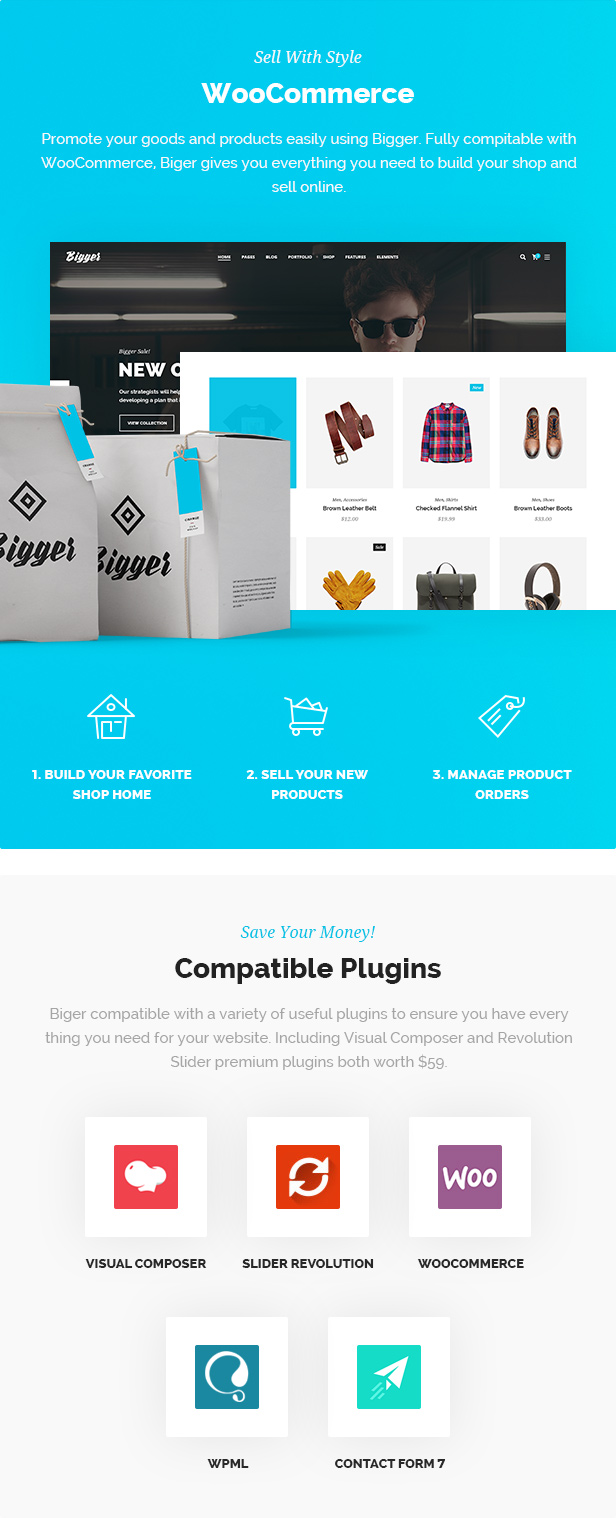 Biger - Responsive Multi-Purpose WordPress Theme - 4