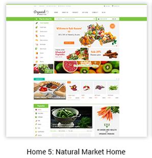 Natural Market Home