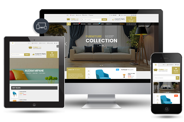 SP Furnicom - Fully Responsive