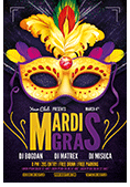 Mardi Gras Party Flyer - 1