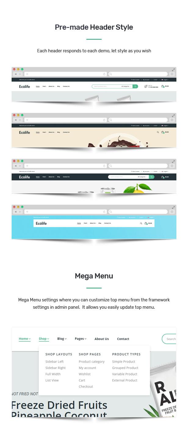 Ecolife v1.0.1-有机WooCommerce WordPress主题插图8