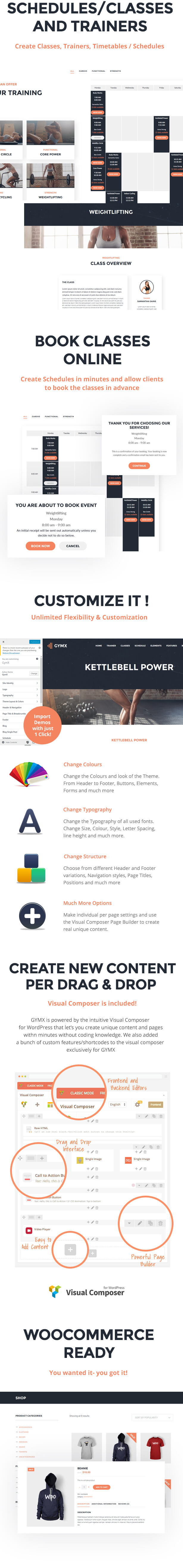 Gym X Fitness Gym & Sports WordPress Theme by themetwins