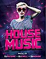 House Music Flyer/Poster