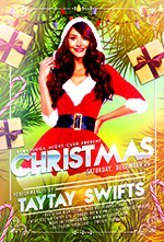 Christmas Night Party Flyer - 2