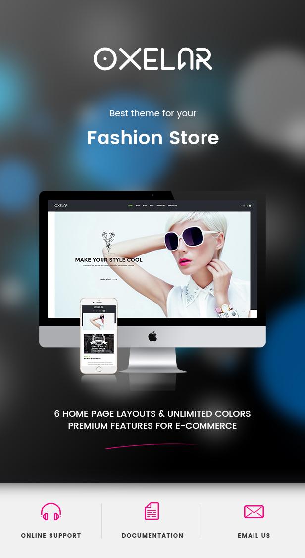 Oxelar - Fashion Responsive WordPress Theme 37