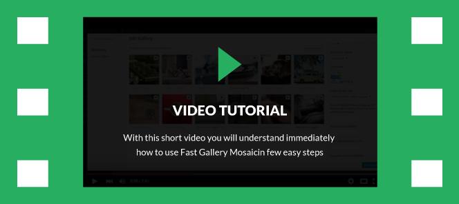 Fast Gallery Mosaic - WordPress Plugin - 4