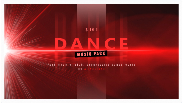 dance club energetic music pack