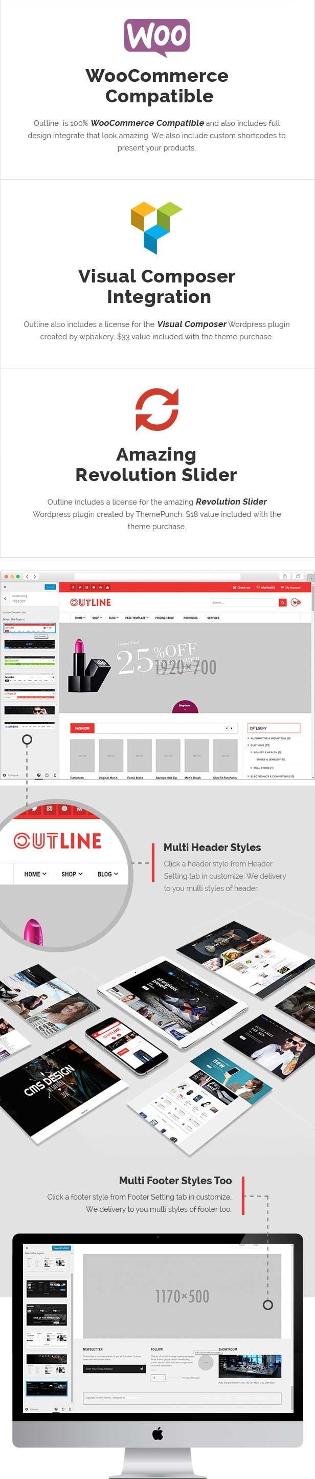 Wordpress Woo OutLine