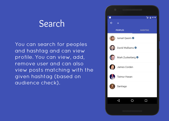SocialApp - Full Android Application - 5