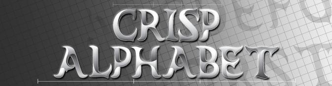 Crisp Alphabet