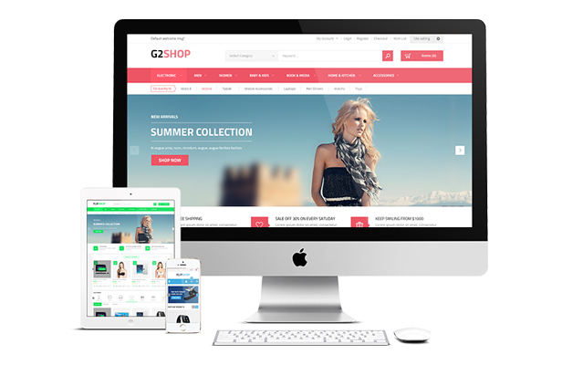 G2shop - Fully Responsive