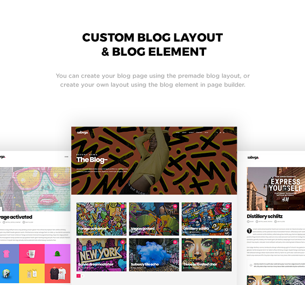 Sabvga - Modern & Creative Portfolio Theme - 2