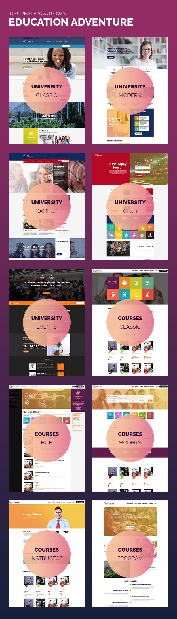 Unidash - WordPress Theme for University and Online Education