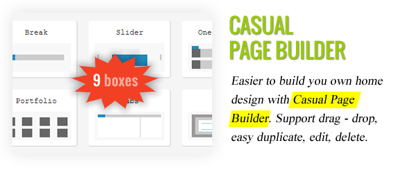 Casual Page Builder - Maginess – Flexible Magazine WordPress Theme