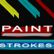 4 Paint Stroke Elements