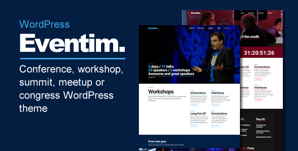 Eventim - Conference, Event, Workshop and Congress Theme