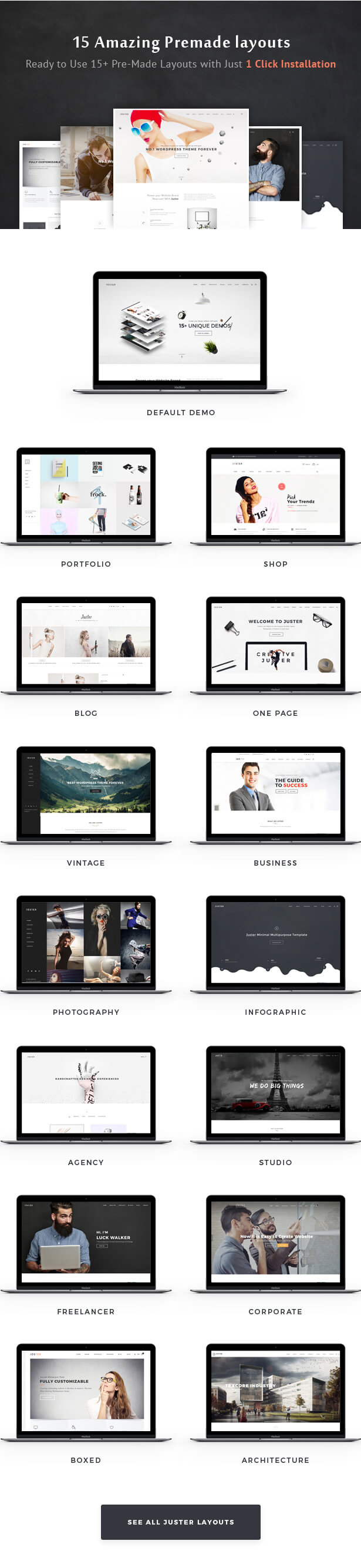 Juster - Multi-Purpose WordPress Theme - 3