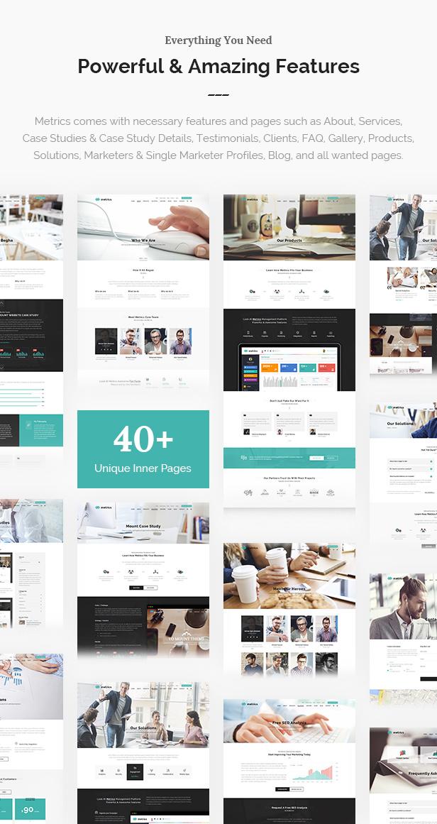 SEO, Digital Marketing, Agency, Social Media WordPress Theme