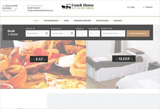 Paradise - Hotel & Resort Responsive WordPress Theme - 2
