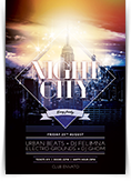 Night City Flyer