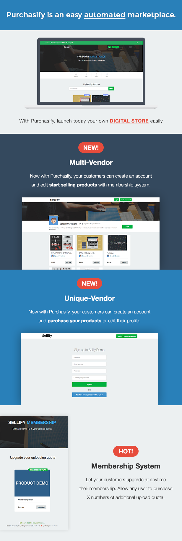 Purchasify - Marketplace for Digital Products - 4