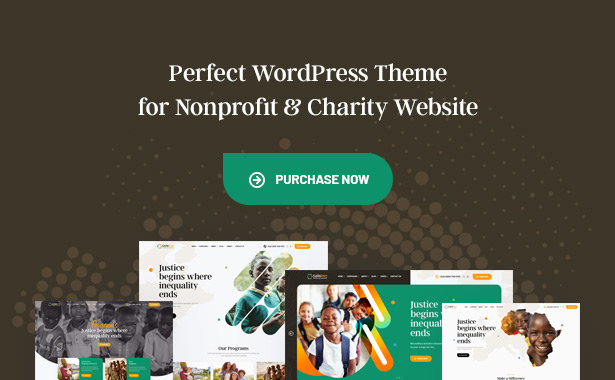 Gainlove Nonprofit WordPress Theme - Download Nonprofit WordPress