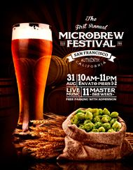 Design Cloud: Microbrew Festival Flyer Template