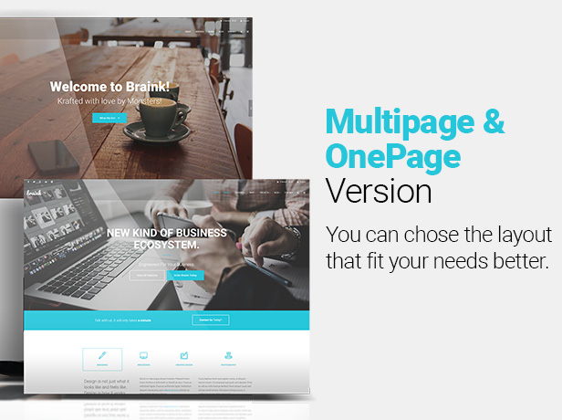 Multipage / OnePage